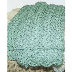 Mary Maxim - Free Lace Blanket Crochet Pattern - Free Patterns - Patterns & Books