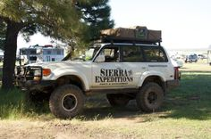 Sierra Expeditions 80 Series Land Cruiser