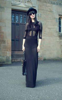 Simon Preen Sheer Dress   Kingdom of Style