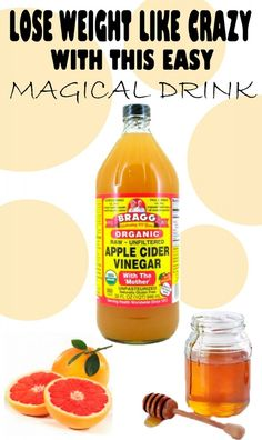 Lose weight like crazy with this easy magical drink!