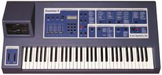 E-MU Emulator II - I remember seeing these in a music store and being fascinated that it had disk drives...