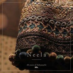Sabyasachi Lehenga Cost, Bridal Lehenga Choli, Sarees, Zardozi Embroidery, Hand Embroidery, Embroidery Designs, Traditional Indian Jewellery, Indian Jewelry, Lehenga For Girls