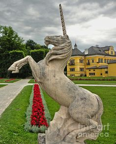 Hellbrunn Palace Unicorn