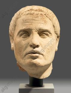 Portrait of a man, Italy, 2nd c. BC