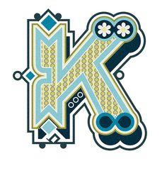 Typography :: Letter K - by Jonny Wan