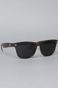 The 55mm Wayfarer Sunglasses in Leopard by All Day