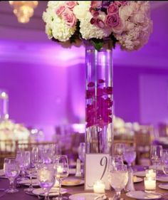 Day 9 - Centerpieces #EveningSun #DreamWedding