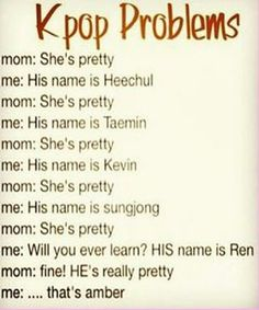 K-POP problems! that happen to me with my Kevin! ♥