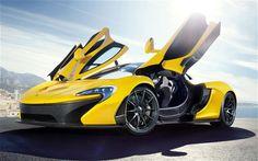 McLaren p1 yellow spec