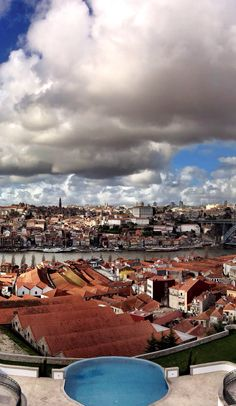 The Yeatman hotel, overlooking the UNESCO heritage city of #porto in north #portugal