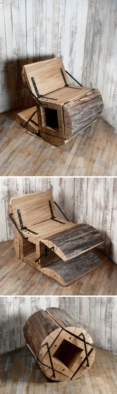 ♂ Eco gentleman Wood chair Original from http://archi-furni-interi.tumblr.com/