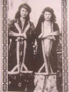 Kurdish Kermanshan girls Eastern Kurdistan 1920 -193
