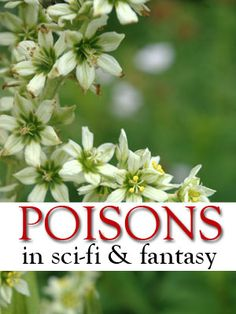 ICYMI, here's toxicologist Megan Chaudhuri on poisons in SF/F literature:  #ScienceInSF