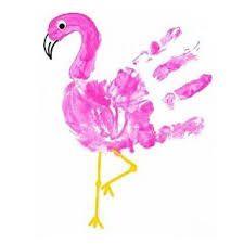 Resultado de imagen para hand print animals