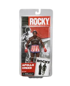 Figura Rocky. 1976 Apollo Creed, Serie 1, 18cm. NECA