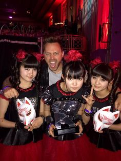 BFMV ‏@bfmvofficial Matt and @BABYMETAL_JAPAN