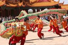 Chinese celebrate Lunar New Year.
