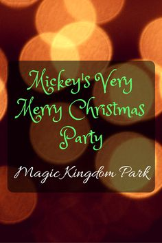 Mickey's Very Merry Christmas Party at Magic Kingdom Park, Mickey Mouse, Minnie Mouse, Goofy and dozens of their other Disney pals help ring in the festive spirit of the holiday season during Mickey's Very Merry Christmas Party at Magic Kingdom Park.  On select nights from Nov. 7 – Dec. 22, guests with tickets to this special, after-hours event can enjoy an evening filled with all the...