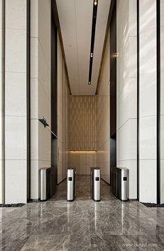序向室内设计 Office Entrance, Office Lobby, Lobby Design, Hall Design, Elevator Design, Elevator Lobby, Corridor Design, Lift Design, Lobby Interior