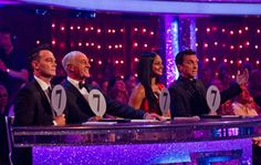 Strictly Come Dancing - give the kids a paddle each to score the first dance as a surprise for Gary