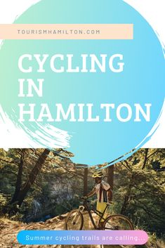 Cycling in Hamilton - A guide to the best biking trails - Tourism Hamilton Bike Trails, Biking, Natural Playground, The Great Outdoors, Hamilton, Tourism, Cycling, Waterfall, Wheels