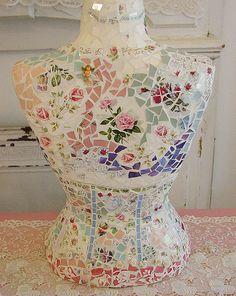 Mosaic Bust! Whimsical!! | Flickr - Photo Sharing!