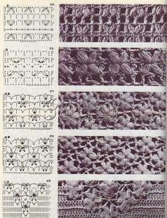 Ivelise Feito à Mão: Pontos Lindos Em Crochê! ♪ ♪ ... #inspiration #crochet #knit #diy GB http://www.pinterest.com/gigibrazil/boards/