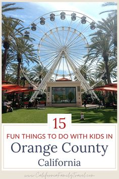 Heading to Southern California? From beaches to museums to baseball games, here are 15 fun things to do with kids in Orange County (that aren't Disneyland!) #beaches #california #orangecounty Southern California Attractions, California Destinations, California Travel, Pretend City, Soak City, Newport Bay, California With Kids, Travel Reviews, Baseball Games