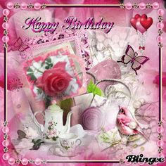 Birthday Greetings For Sister, Birthday Greeting Cards, Birthday Wishes, Miss Elizabeth, Happy Birthdays, Hearts And Roses, Everything Pink, Cute Wallpapers, Special Occasion