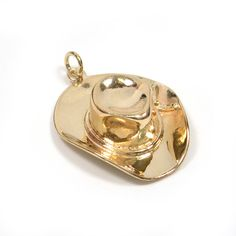 05ad9692616 Vintage Charm - Vintage 1950s Cowboy Hat Charm Pendant in 14k Yellow Gold  Charm Braclets
