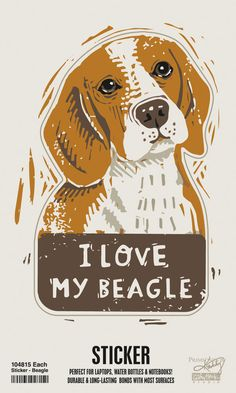 Dog Bone Magnet I LOVE MY COCKER SPANIELDogs Doggy PuppyCar Automobile