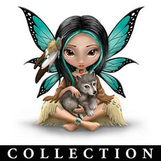 "Jasmine Becket-Griffith's ""Spirit Maidens"" Figurines"