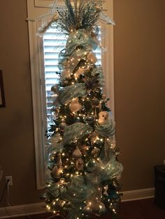 Birds of a feather tree I decorated for client