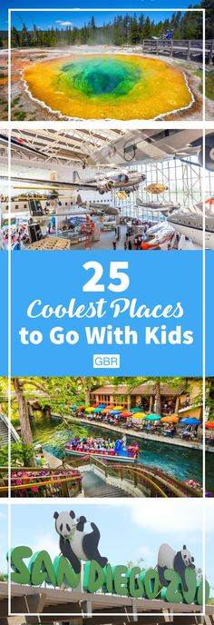 These are the COOLEST places to take your kids. Check them out!
