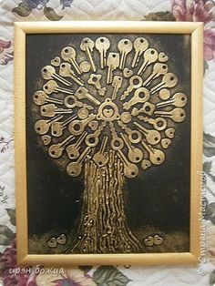 "Discover additional relevant information on ""metal tree art diy"". Take a look at our website. Metal Tree Wall Art, Scrap Metal Art, Metal Artwork, Button Art, Button Crafts, Vintage Jewelry Crafts, Jewelry Art, Costume Jewelry Crafts, Art Altéré"