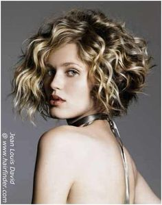 10 Curly Bob Hairstyles To Inspire You...  I LOVE THIS! Wish I could have the fullness and the curls..