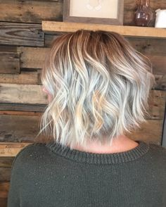 Textured balayage with shadow roots by Devin Blake