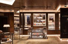 Gun Safe Room, Refinery Hotel, Storing Clothes, Jewellery Showroom, Only Shirt, Tailor Shop, Retail Interior, Store Displays, Retail Design