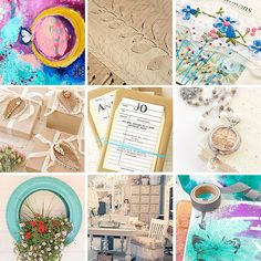 Top 9 Repinned Pics and Projects + Special Giveaway