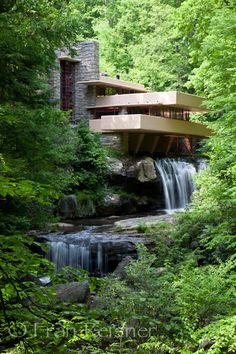 Frank Lloyd Wright's Fallingwater, Ohiopyle Pennsylvania