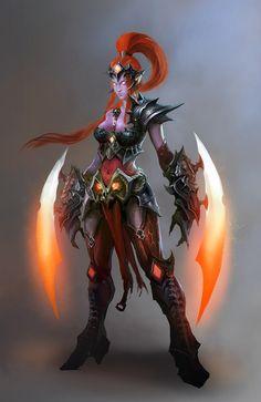 Heroes of Newerth - Glorious Dark Lady