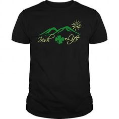 Cool and Awesome Irish Life Saint Patricks Day Celebration Shirt Hoodie