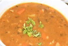 Hŕstková polievka s párkom