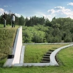 Incredible Green Roofing. Amazing detail created with concrete