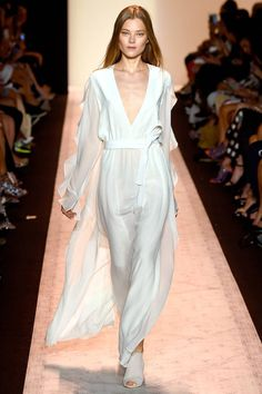 BCBG Max Azria Spring 2015. See the best runway looks from #NYFW here: