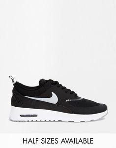 Imagen 1 de Zapatillas negras con cámara de aire Air Max Thea de Nike