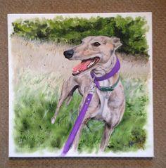 Pet commission acrylic on canvas Custom Canvas, Moose Art, Pets, Animals, Custom Screens, Animaux, Animal, Animales, Animais