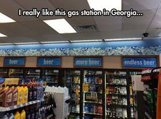Now That My Kind Of Gas Station