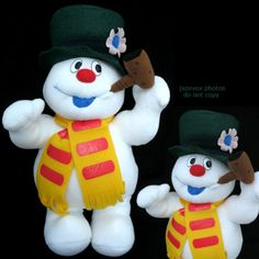 New Christmas Winter Frosty The Snowman Singing Song Musical Plush Stuffed Doll $1 SORRY SOLD ... we sell more Christmas or Holiday Home Decors at   http://www.TropicalFeel.com