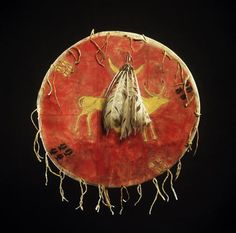 Southern Cheyenne shield, Denver Art Mus.